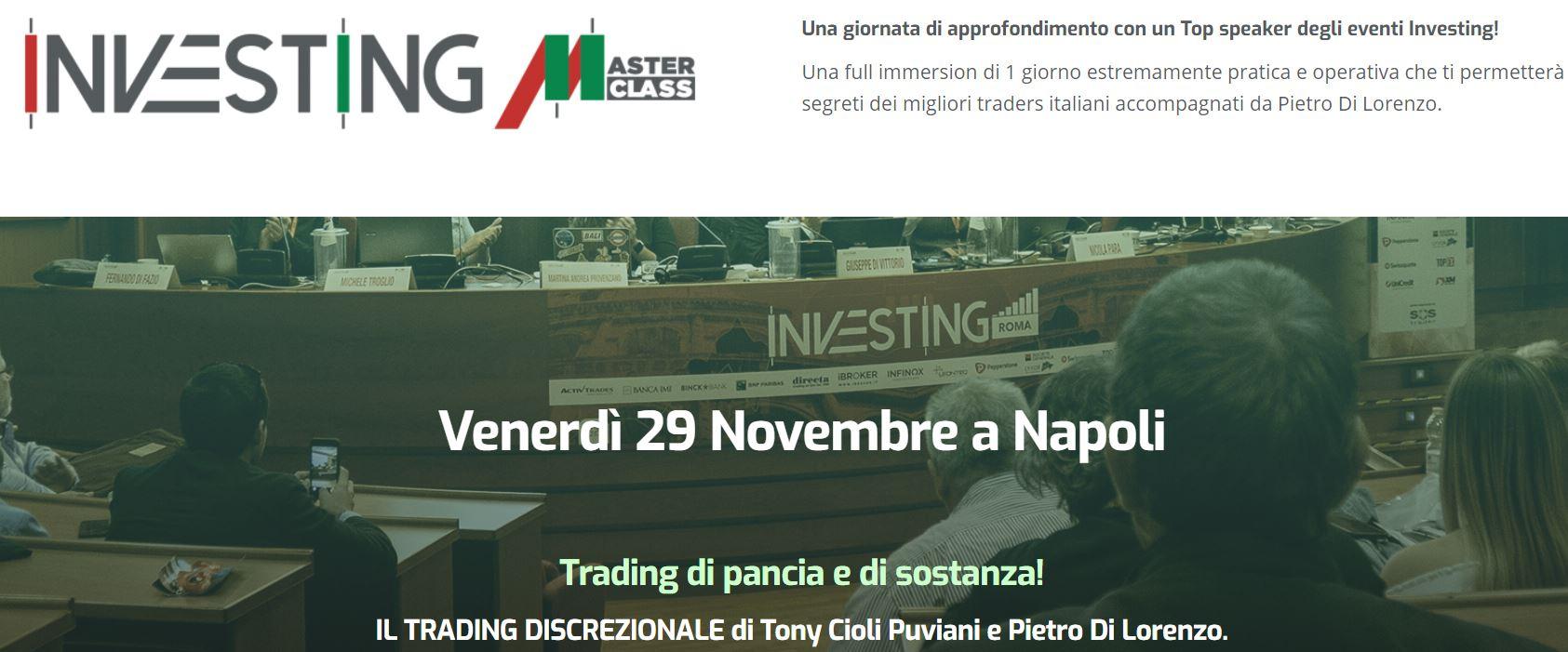 Investing Masterclass Napoli