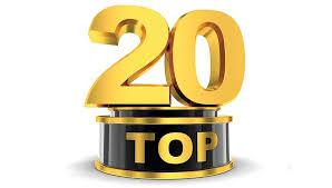 I 20 articoli più letti della settimana